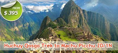 Huchuy Qosqo Trek to Machu Picchu 2 Days 1 Night