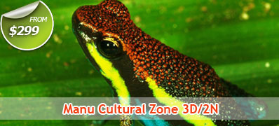 Manu Cultural Zone 3 Days 2 Nights