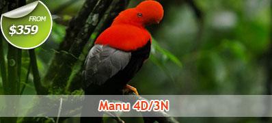 Manu 4 Days 3 Nights