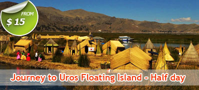 Uros floating Island ½ Day